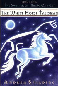 book cover the white horse talisman