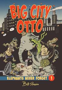 Book Cover Big City Otto