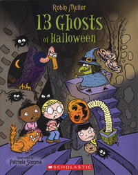 Book Cover: 13 Ghosts of Halloween