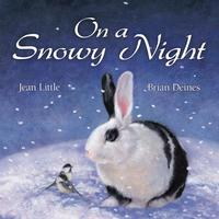 Book Cover On a Snowy Night