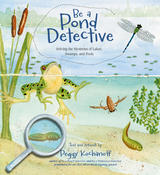 Book Cover Be a Pond Detective