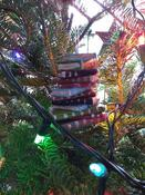 Pile of Books Christmas Tree Ornament