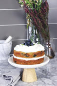 Blueberry Vanilla Cake from Everyone's Welcome