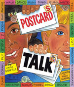 Book Cover Postcards Talk