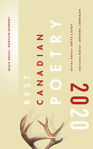 Book Cover Best Canadian Poetry 2020