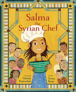 Book Cover Salma the Syrian Chef