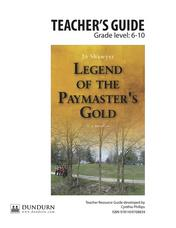 Legend of the Paymaster's Gold Teachers' Guide