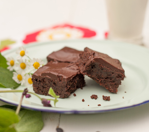 Amazing Black Bean Brownies from The Power of Pulses