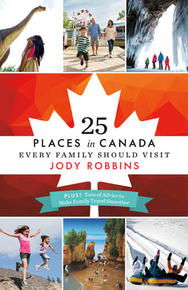 Book Cover 25 Places in Canada...