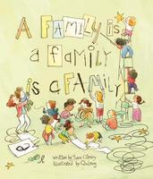 Book Cover A family is a family is a family