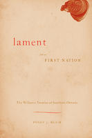 Book Cover A Lament for a First Nation