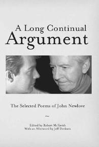 Book Cover A Long Continual Argument