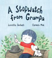 Book Cover a Stopwatch From Grampa