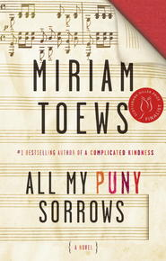 Book Cover All My Puny Sorrows