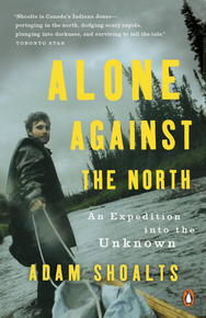 Book Cover Alone Against the North