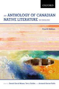 Book Cover An Anthology of Canadian Native Literature in English