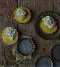 Book Cover Apricot Curd Tart