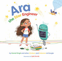 Book Cover Ara the Star Engineer