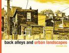 Book Cover Back Alleys and Urban Landscapes
