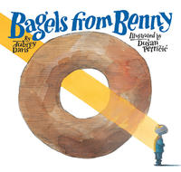 Book Cover Bagels from Benny
