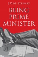 Book Cover Being Prime Minister