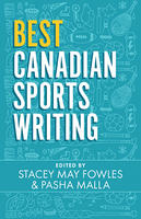 Book Cover Best Canadian Sports Writing