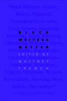 Book Cover Black Writers Matter