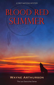 Book Cover Blood Red Summer