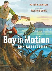 Book Cover Boy in Motion