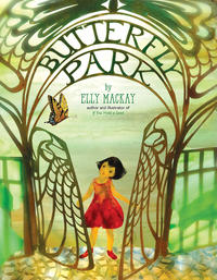 Book Cover Butterfly Park