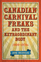 Book Cover Canadian Carnival Freaks