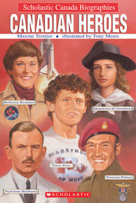 Book Cover Canadian Heroes