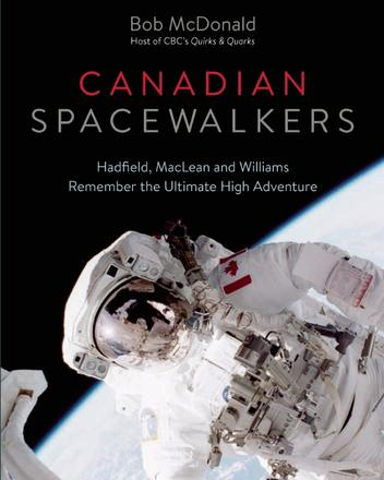 Book Cover Canadian Spacewalkers