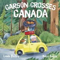 Book Cover Carson Crosses Canada