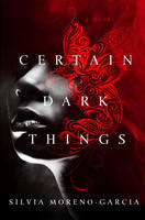 book cover certain dark things