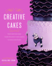 Book Cover Creative Cakes