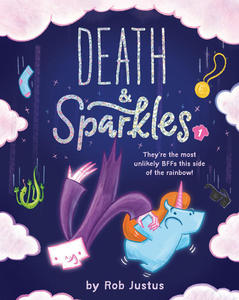 Book Cover Death and Sparkles