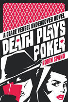 book cover death plays poker