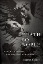 Book Cover Death So Noble