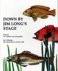 Book Cover Down By Jim Long's Stage
