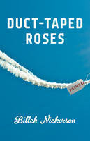 Book Cover Duct Taped Roses