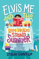 Book Cover Elvis Me and the Lemonade Summer