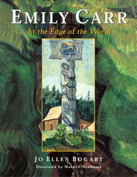 book Cover Emily Carr at the Edge of the World
