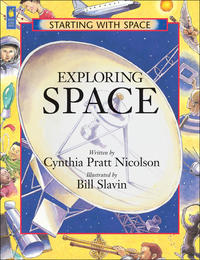 Book Cover Exploring Space