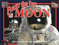 Book Cover First On the Moon