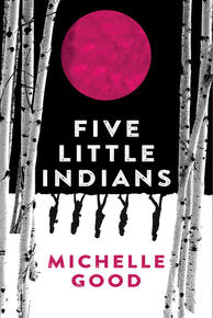Book Cover Five Little Indians