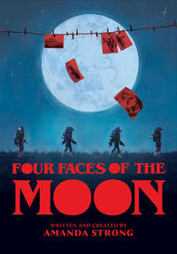 Book Cover Four Faces of the Moon