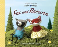 Book Cover Fox and Raccoon
