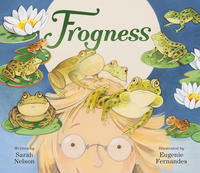 Book Cover Frogness
