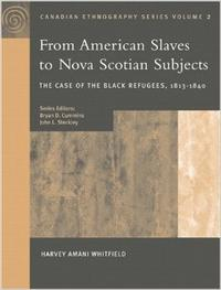 Book Cover From African Slaves to Nova Scotian Subjects